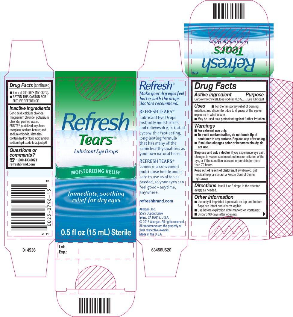 REFRESH TEARS (solution/ drops) Allergan Inc.