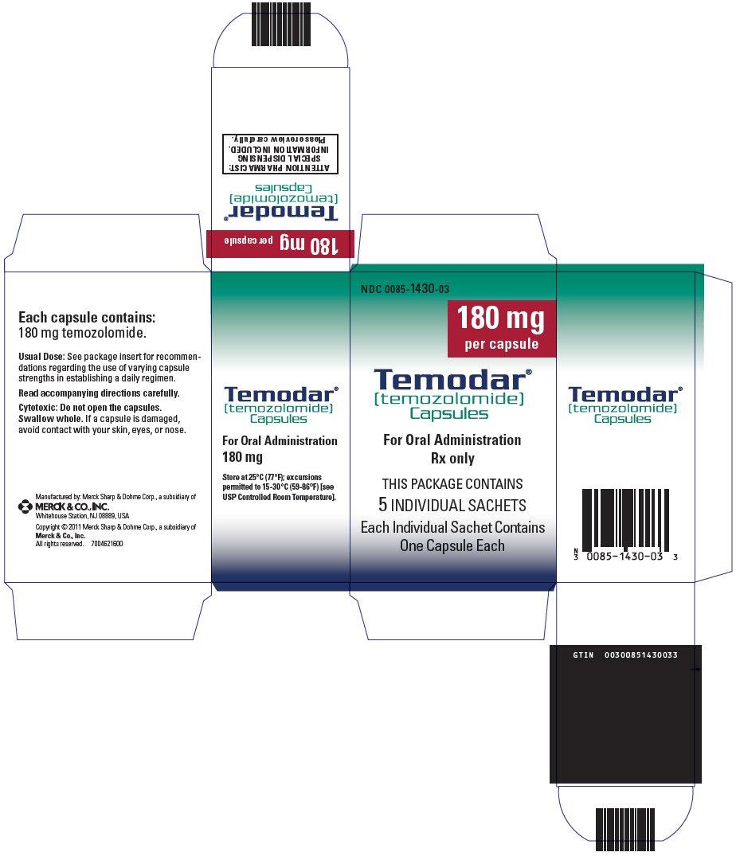 Temodar - FDA prescribing information side effects and uses