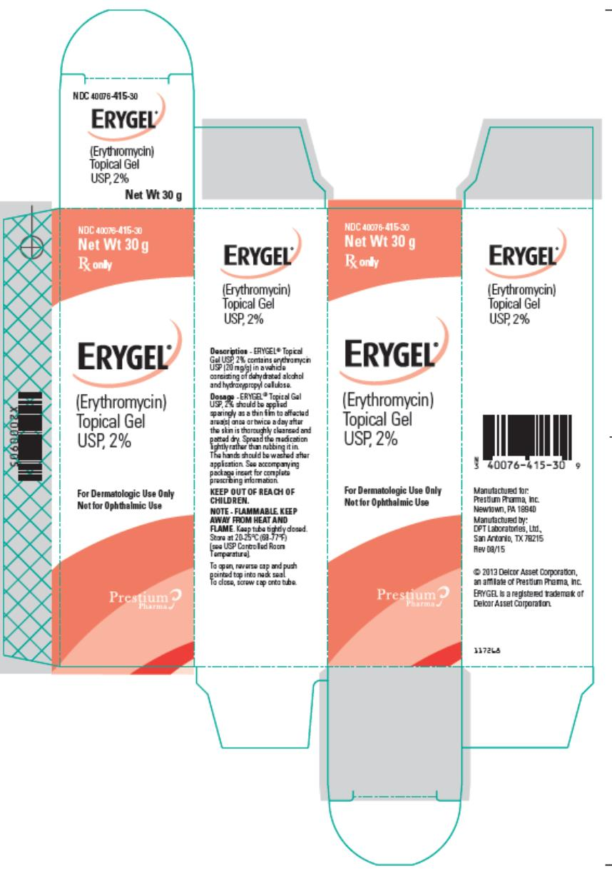 Erygel - FDA prescribing information side effects and uses