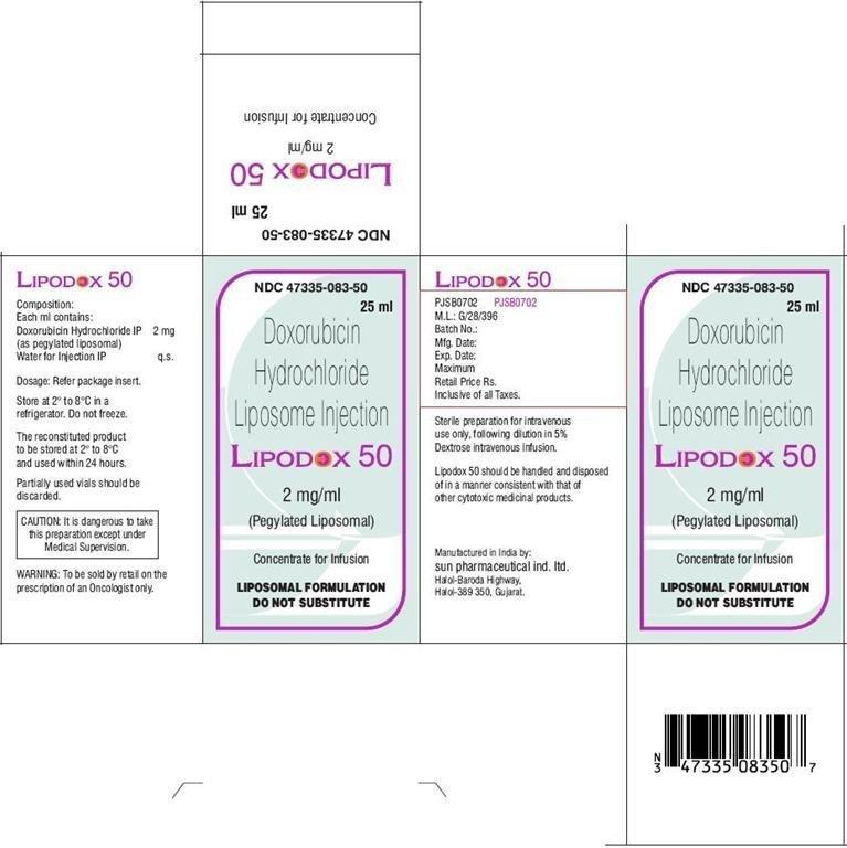 Lipodox - FDA prescribing information, side effects and uses