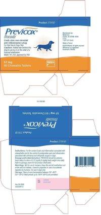 Previcox Chewable Tablets - FDA prescribing information ...