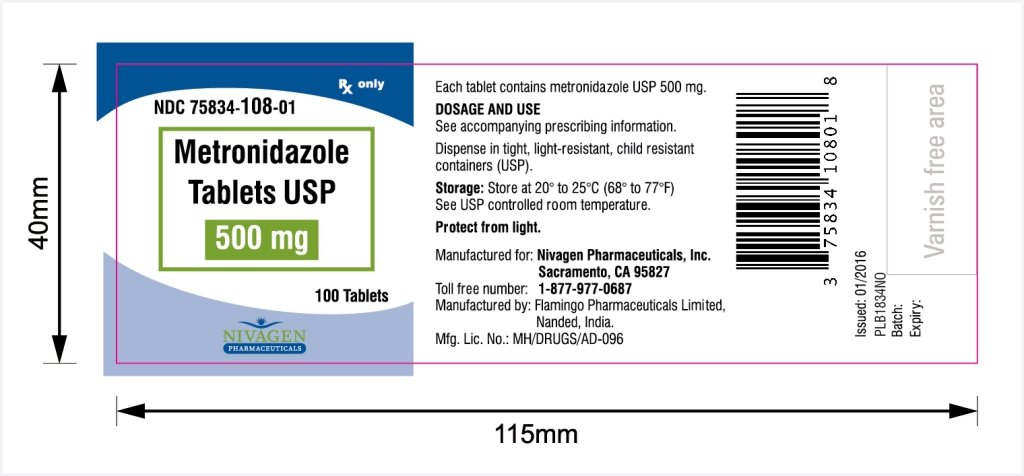 Metronidazole - FDA prescribing information side effects ...