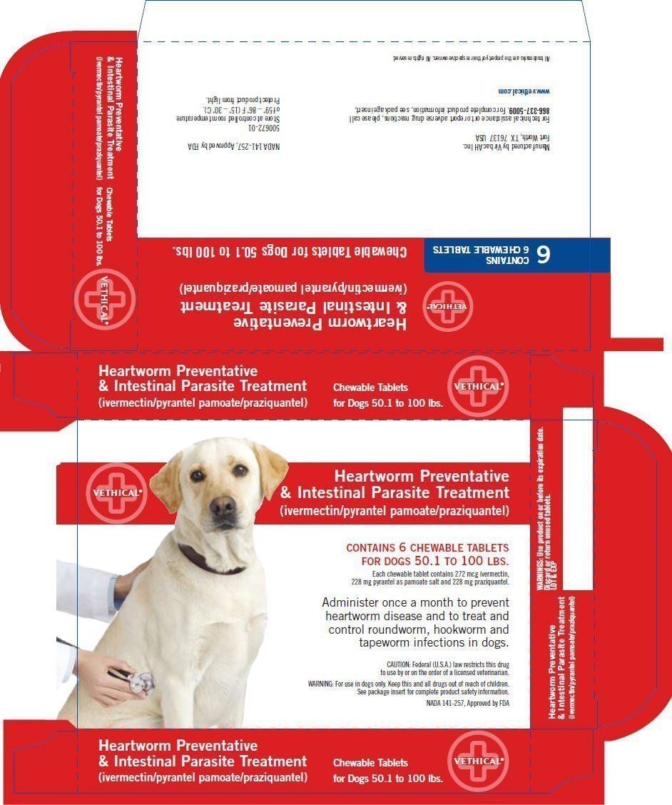 Heartworm - FDA prescribing information side effects and uses