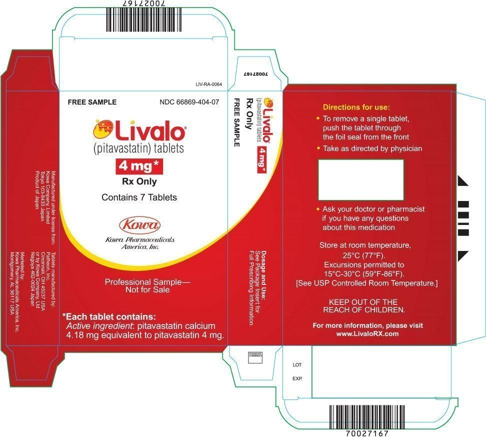 Livalo - FDA prescribing information side effects and uses