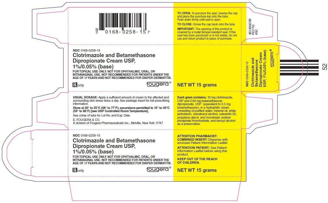 Clotrimazole Betamethasone Cream - FDA prescribing information, side effects and uses