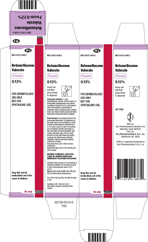 Betamethasone Valerate Foam - FDA prescribing information ...