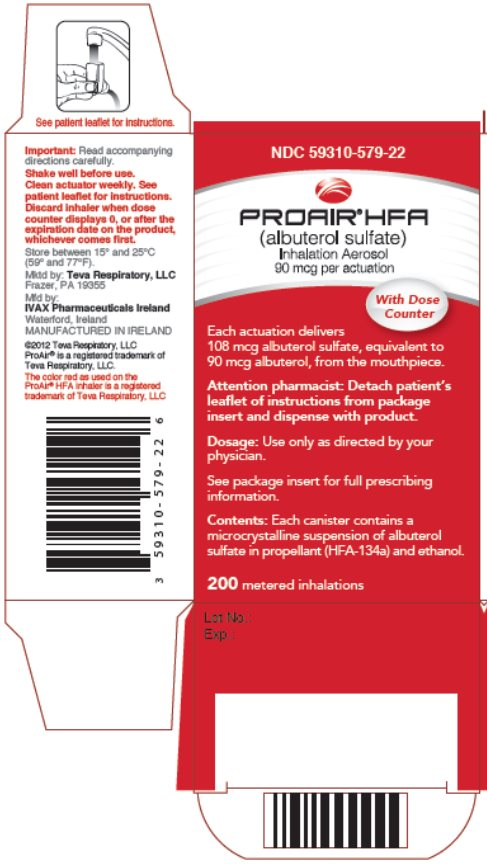 ProAir HFA - FDA prescribing information side effects and ...