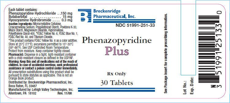 Phenazopyridine Plus - FDA prescribing information side ...