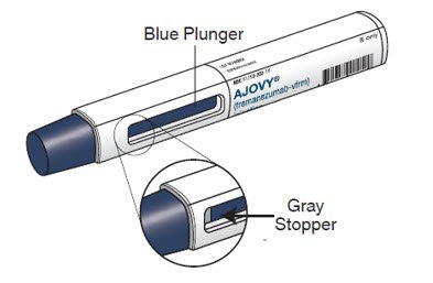 Ajovy Injection - FDA prescribing information side ...