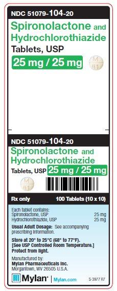 Spironolactone and Hydrochlorothiazide - FDA prescribing ...