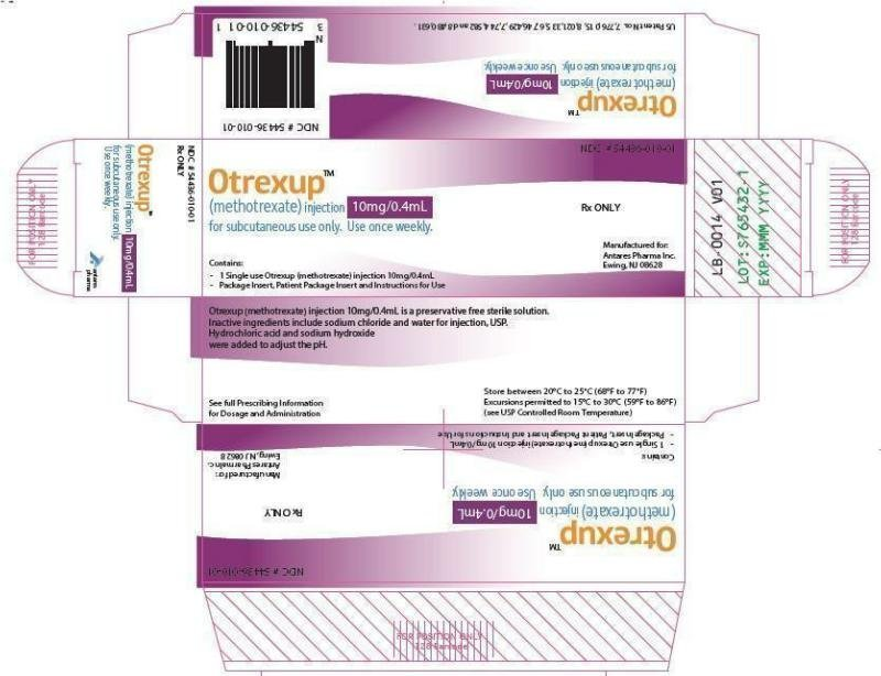 Otrexup - FDA prescribing information, side effects and uses