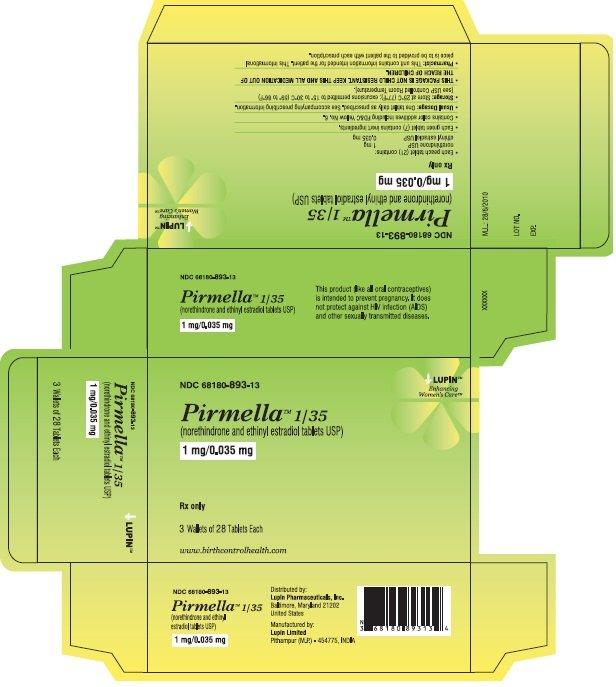 Pirmella 1/35 - FDA prescribing information side effects ...