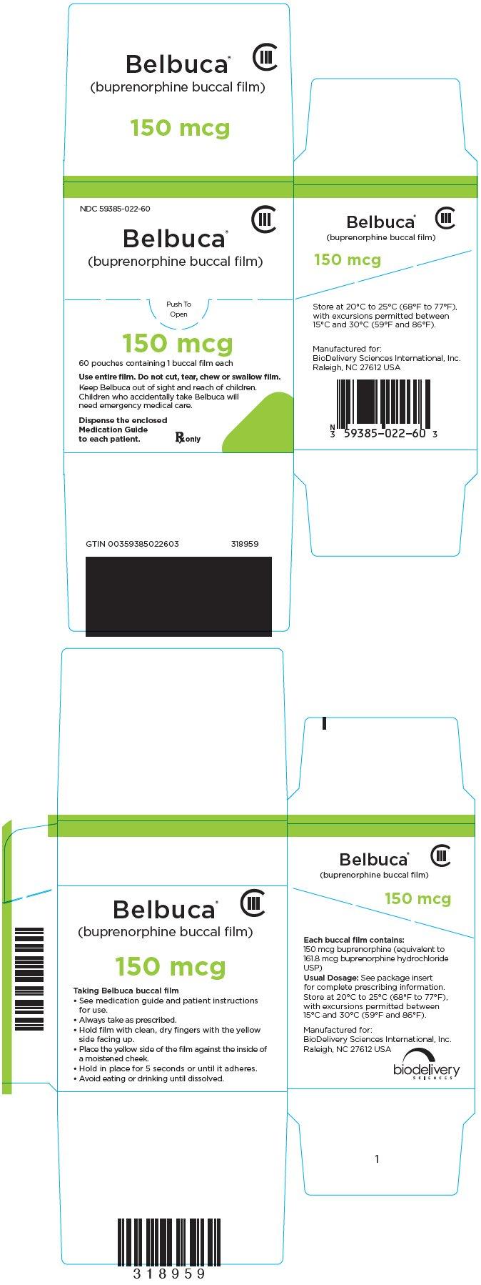 Belbuca - FDA prescribing information side effects and uses