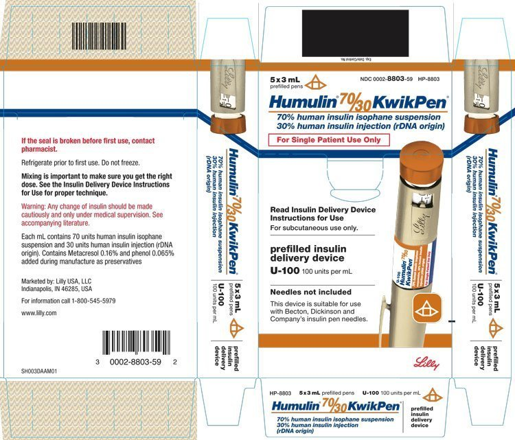 Humulin 70/30 - FDA prescribing information side effects ...