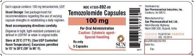 Resultado de imagen para temozolomide