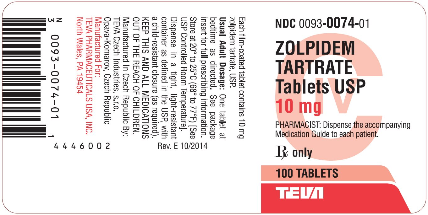 Zolpidem Tartrate 10 Mg Side Effects
