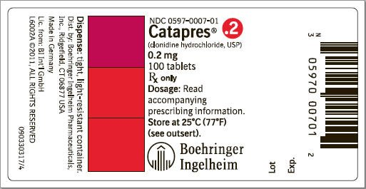 01 Mg Clonidine Hydrochloride Tablets