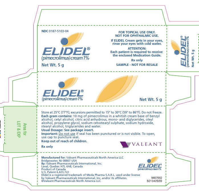 Elidel - FDA prescribing information side effects and uses