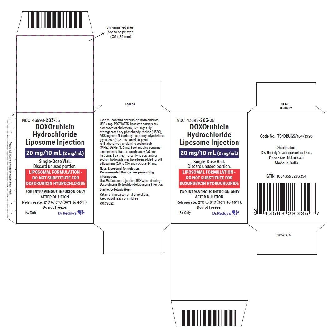 Doxorubicin Liposomal - FDA prescribing information, side effects and uses