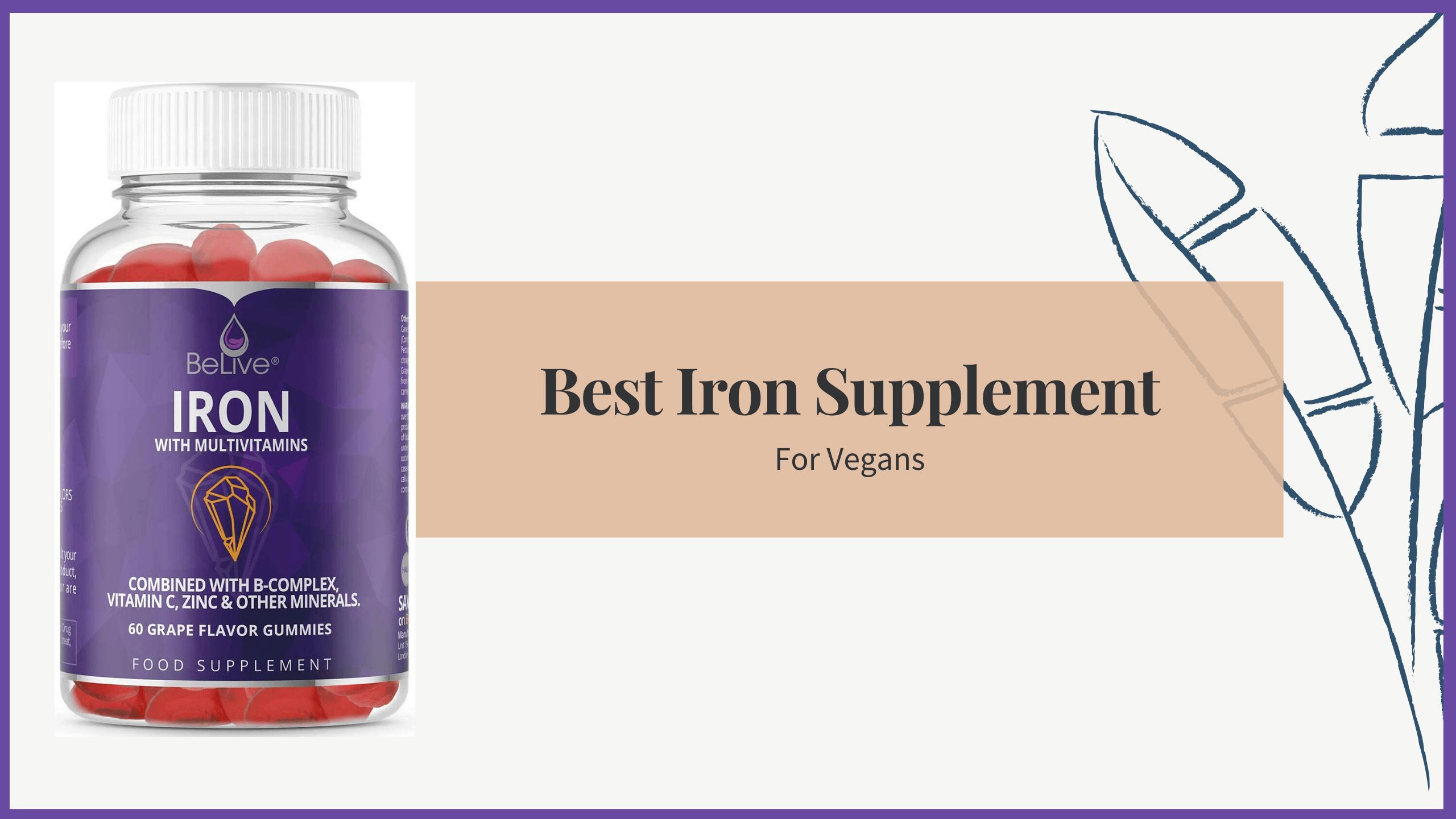 best iron supplements for vegans