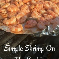 Simple Shrimp On The Barbie