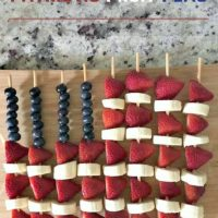 Patriotic Fruit Flag
