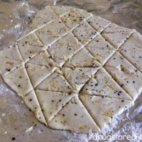 2 Ingredient Dough Pita Chips (10 Chips = 1 Weight Watchers Freestyle Point)