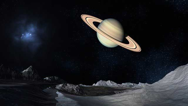 Saturn trifft Jupiter