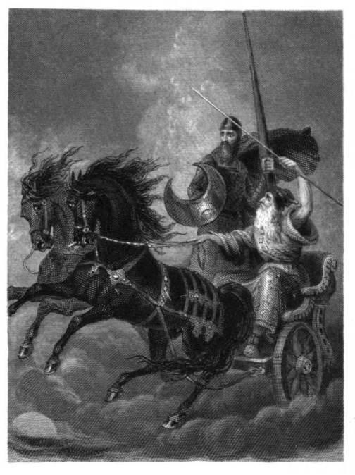 Merlin als Krieger