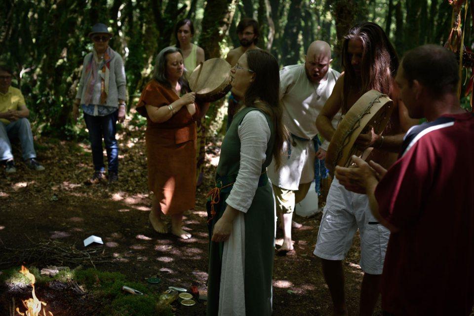cérémonie druidique invocation