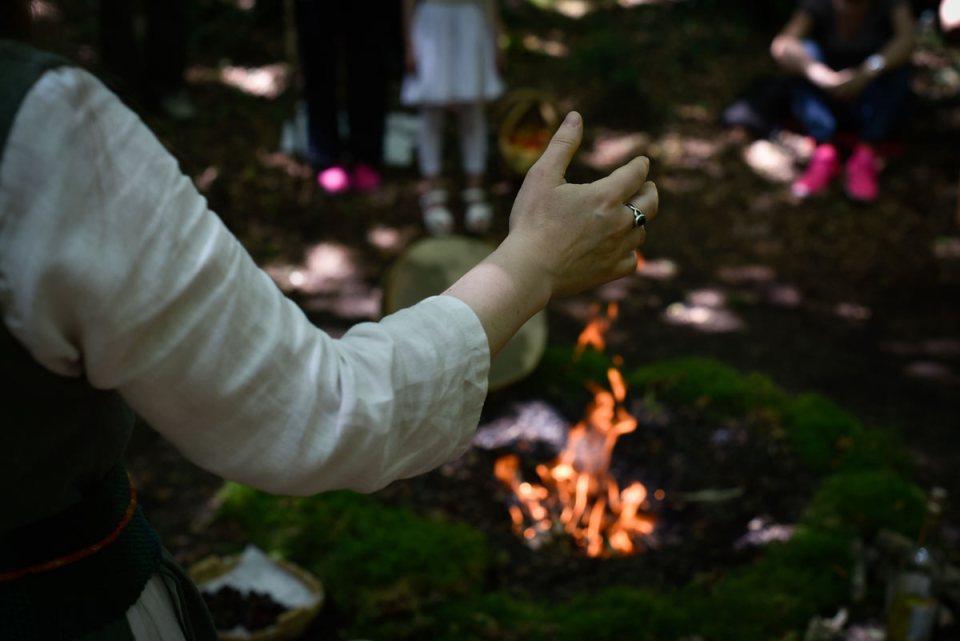 Cérémonie druidique - ovate