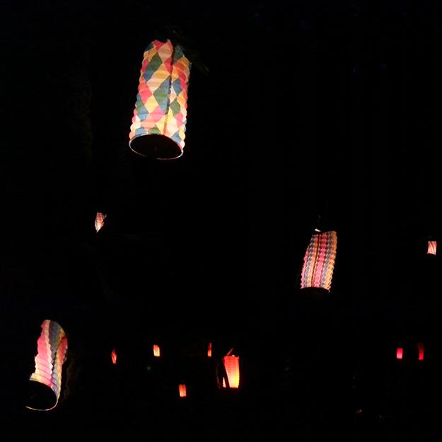 feux solstice d'été lampions