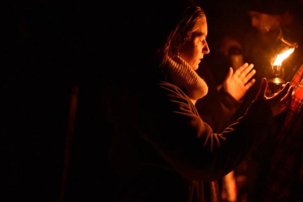 Fête druidique et dévotion de l'ovate