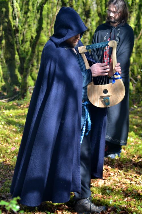 Brigia - barde à la lyre