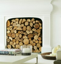 Druidswood: Decorative Round Firewood Logs