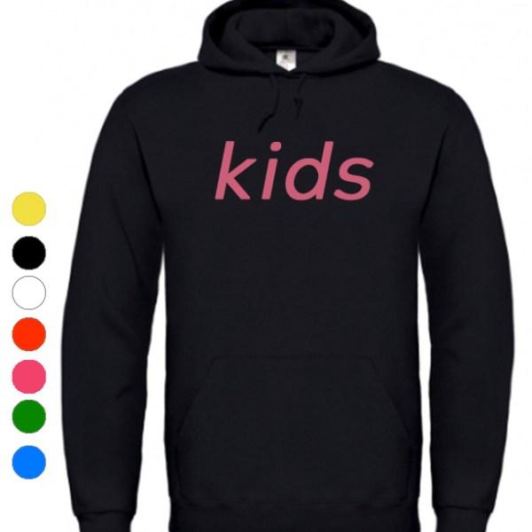 hoodie kids bedrukken drukken druk bedrukt trui capuchon sweater drukjeshirtje.nl
