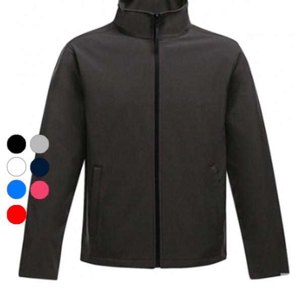 softshell dames bedrukken bedrukt print borduren drukken druk jas jacks vest
