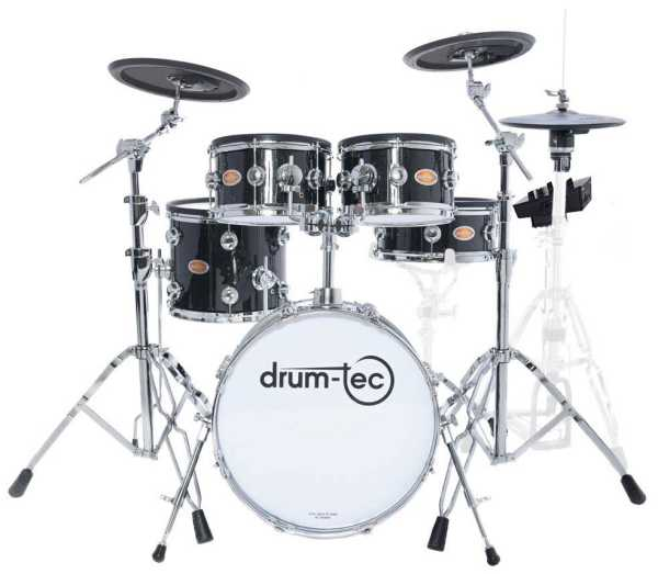 drum-tec Jam Stage with Roland TD-25 (black sparkle finish