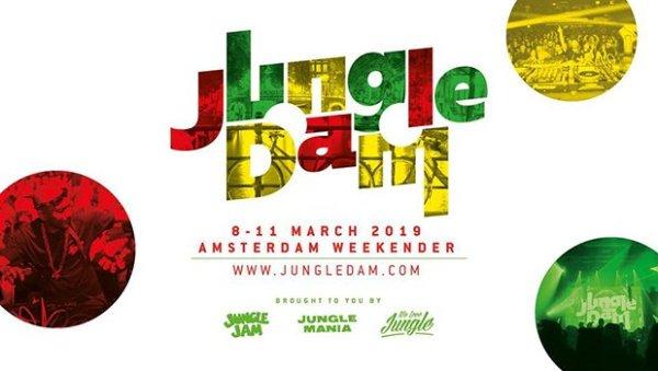 Jungle Dam • Amsterdam Weekender • 8-11 March 2019
