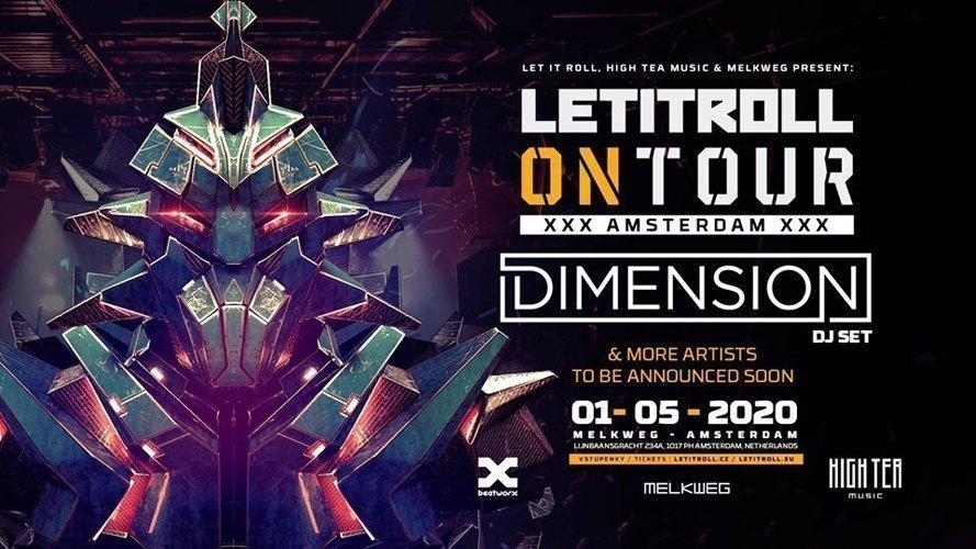 Let It Roll On Tour 2020 & High Tea Music w/ Dimension