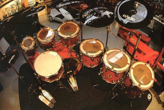 Nick Mason Drummerworld