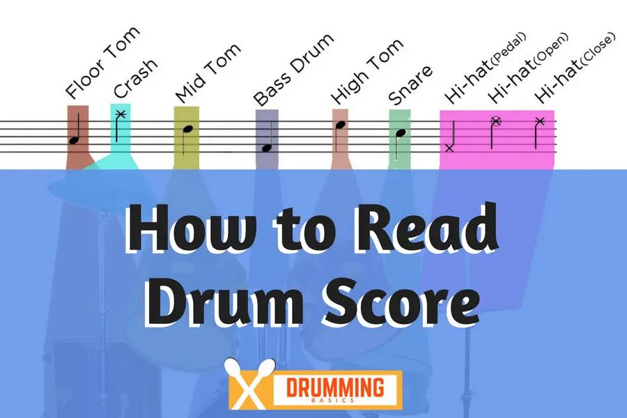How to read Drum Score