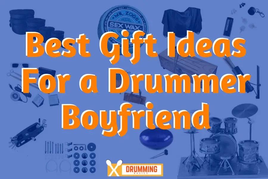 Gifts for a drummer boyfriend