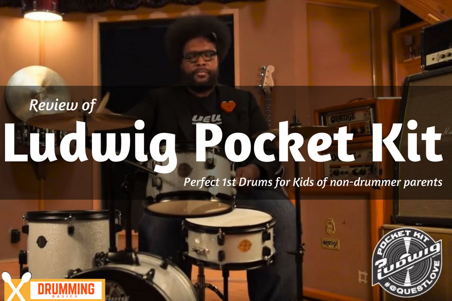 Ludwig Pocket Kit Review: For Clueless Parents Shopping for Kids Drums