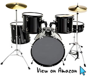 LAGRIMA-Full-Size-5-Piece-Complete-Adult-Drum-Set