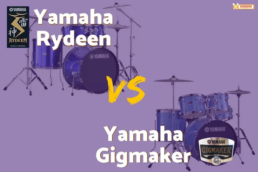 Yamaha Rydeen vs Gigmaker