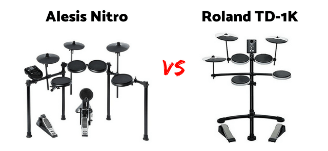 Differences between Alesis Nitro vs Roland TD1K