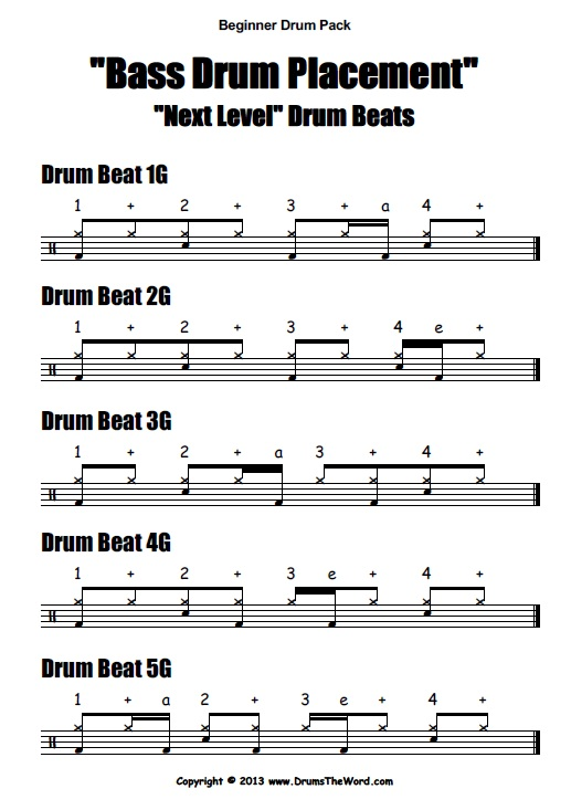 Pdf teach drums you yourself can