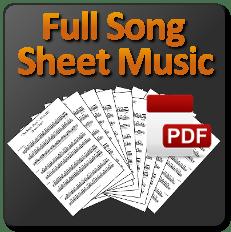 Full Song Sheet Music