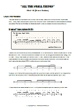 Drum Fills eBook Screen Shot - All The Small Things